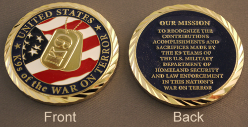 K9s of the War on Terror Coin